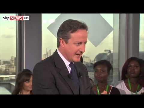 David Cameron Not Sure About VAT Rules For Sanitary Products