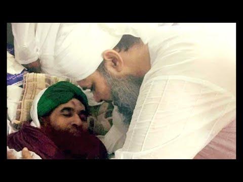 Owais Qadri visits Maulana Ilyas Attar Qadri to enquire about health after operation