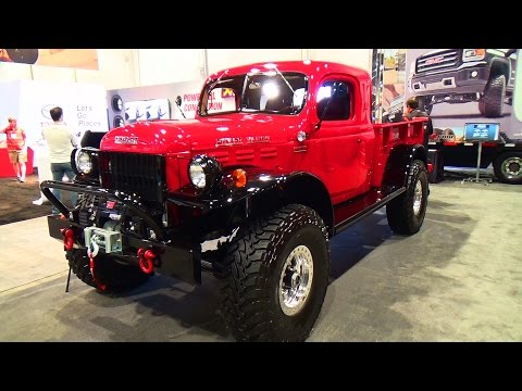 1947 Dodge Power Wagon SEMA 2014