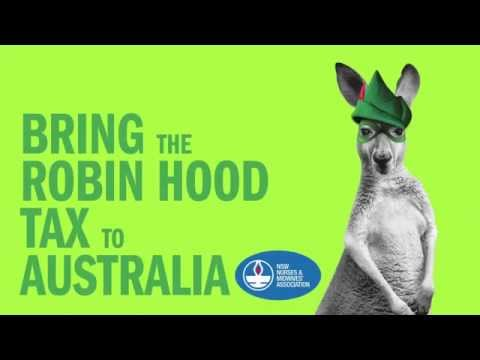 NSWNMA: Bring the Robin Hood Tax to Australia - G20 teaser