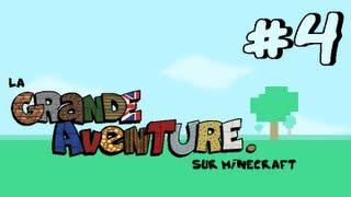 #4 La Grande Aventure sur Minecraft - UN LIEU ÉTRANGE !