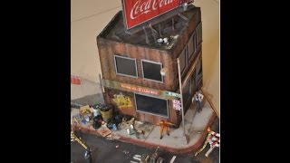 Zombieland Diorama Build in 1/35 scale Masterbox Figures
