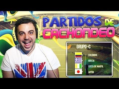 FIFA 14 |De Cachondeo| Minitorneo Grupo C Mundial Brasil
