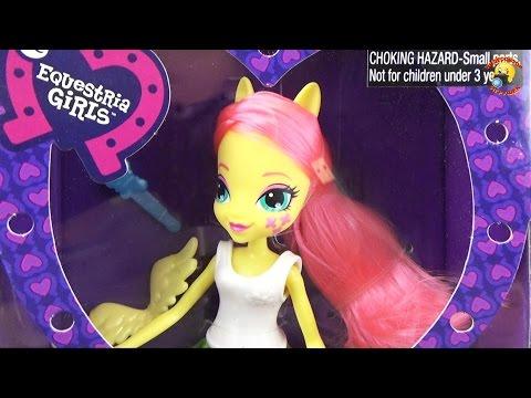 Флаттершай - кукла пони Eqvestria Girls Collection, MLP