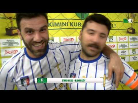 Maç Sonu Röportaj Ercan Koç  Simon Koç - Bakı...