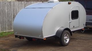 150 Tear Drop Trailers, DIY Homemade teardrop travel trailers, Great pics.