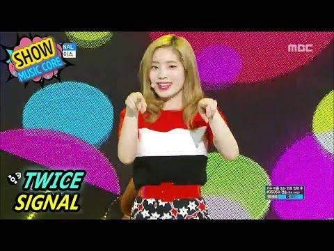 [HOT] TWICE - SIGNAL, 트와이스 - 시그널 Show Music Core 20170603