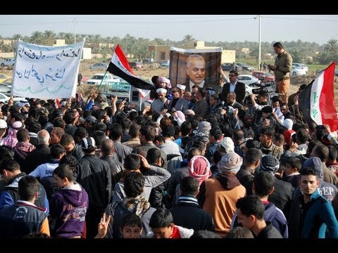 Thousands rally in Iraq against al-Maliki government