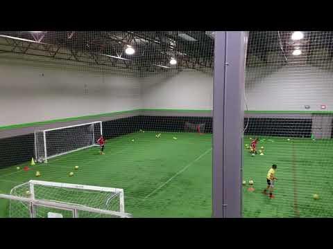 J Sebastian Lutins  shot-stopping drill  Youth Goalkeeper training drill