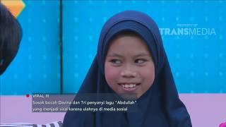 RUMPI - Ribuan Endorse Mendatangi Sosok Bocah Yang Viral Menyanyikan Lagu Abdullah (18/9/18) Part 1