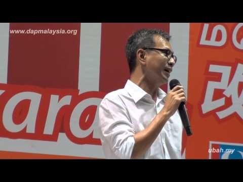 0407 Ceramah @ Senai by Tony Pua 潘檢偉