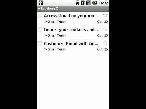 Sabia que... o android sincroniza automáticamente os contactos com a conta GMail?
