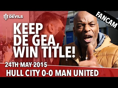 De Gea Stays, Win Title! | Hull City 0 - 0 Manchester United | Fancam