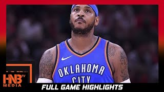 Oklahoma City Thunder vs Denver Nuggets Full Game Highlights / Week 4 / 2017 NBA Season