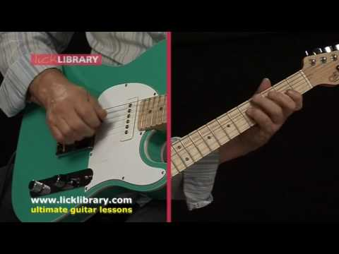 Albert Lee Style - Quick Licks - Guitar Solo Performance by Steve Trovato