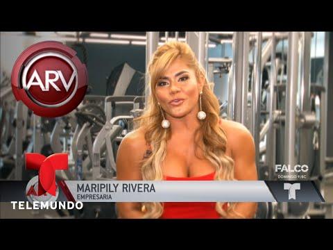 Maripily Rivera presenta su línea de ropa deportiva   Al Rojo Vivo   Telemundo
