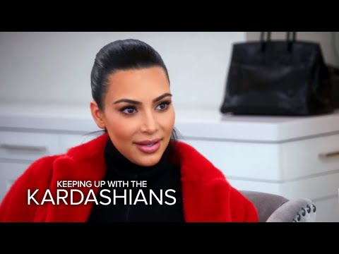 KUWTK | Kris Jenner Kicking Kim Kardashian and Kanye Out? | E!