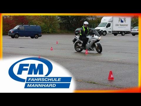 Motorrad Manöverprüfung Zürich (Albisgütli)