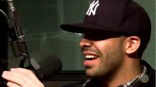 Drake stops by Hot97 talks to Angie
