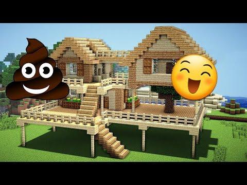 B.K Götüren Ev Vs Güzel Ev - Minecraft Modern Evler