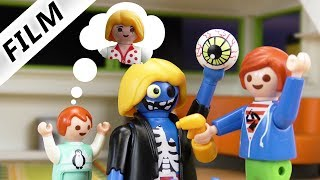 Familie Vogel: MONSTER MAMA - Lastet auf Luxusvilla ein Fluch? | Kinderserie Playmobil Film deutsch