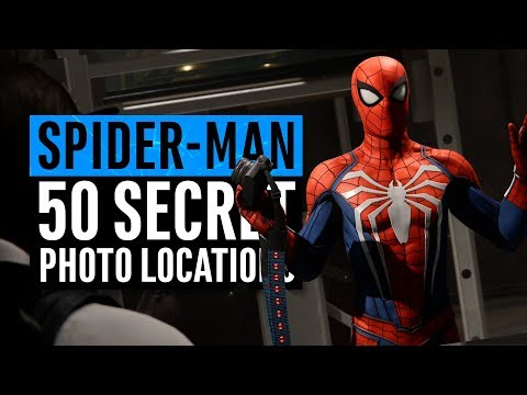 Spider-Man PS4   All 50 Secret Photos Locations (Hidden Suit)
