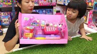 mở hộp đồ chơi bán kem mới siêu cute   toy for kid ice cream   ToysReview