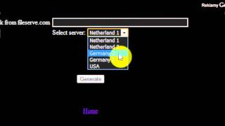 Fileserve Link Genarator Web [HD]