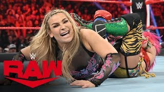 Natalya & Lacey Evans vs. The Kabuki Warriors: Raw, Oct. 14, 2019
