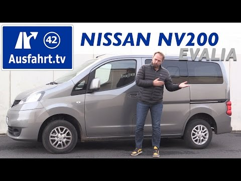 2016 Nissan NV200 Evalia 1.5 dci Tekna - Fahrbericht der Probefahrt  Test   Review