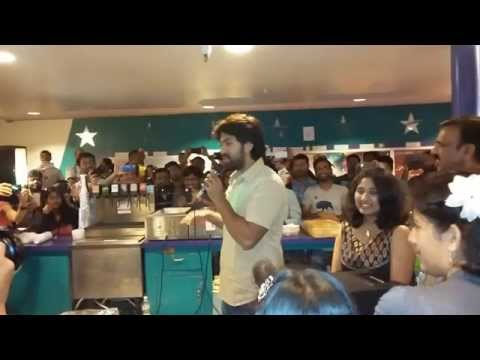 Gajakesari Rajahuli Rocking Star Yash Talks To Fans In Usa video