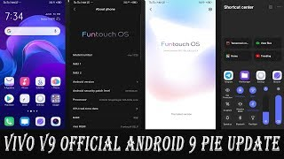 Vivo V9 Officical Stable Android Pie 9 Update released for all users
