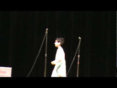 Shubham's Hindi Poem Competition Final Round video