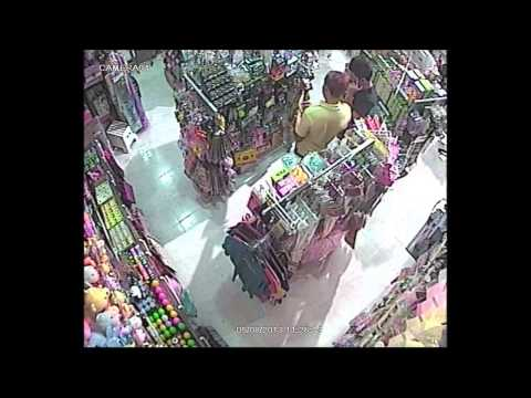 2 Malay Boys (Age:15 ) Shoplifting at JCube caught Red Handed