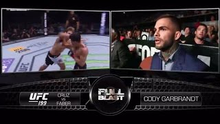 UFC 207: Cody Garbrandt - Full Blast Cruz vs Faber 3
