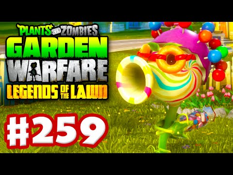 Plants vs. Zombies: Garden Warfare Gameplay Walkthrough Part 259 Delicious Candy Set