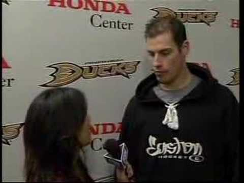 Anaheim Ducks - Ryan Getzlaf Postgame Interview 1/15