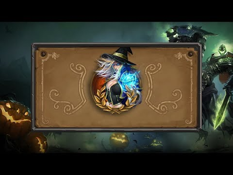 Hearthstone Hallow's End Greetings – Jaina Proudmoore