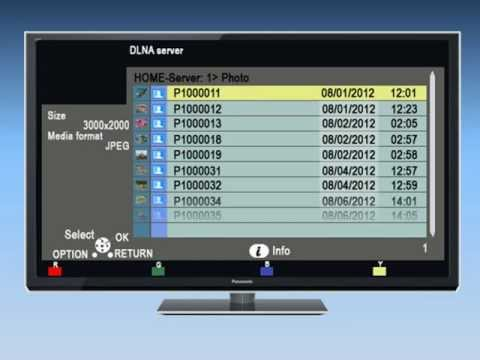 Panasonic VIERA - How to use DLNA and Media Player on your VIERA Television