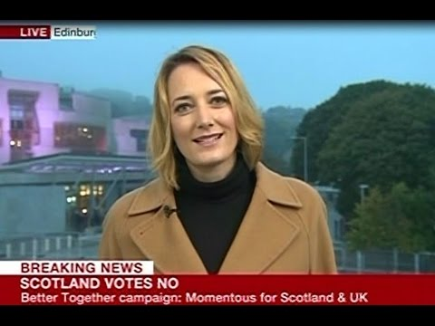 Scottish Independence Referendum, 2014 - Live Coverage - BBC World News - 19/9/14 - Part 3 of 4