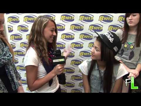 Zendaya Coleman Rocky Blue at Spotsy Towne Center interviewed by FredericksburgLIVE.com