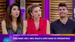 """Barış Murat Yağcı:""""Birce Akalay kuzenim. Saçını beğenmedim psikolojisi bozuk biri öyle kestirir."""""""