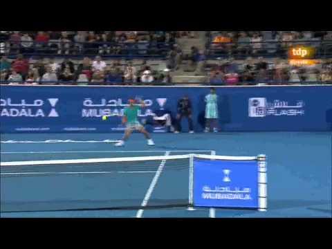 Torneo Exhibición Abu Dhabi 2015 | SF Andy Murray - Rafael Nadal