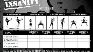 STARTING TODAY/INSANITY SCHEDULE