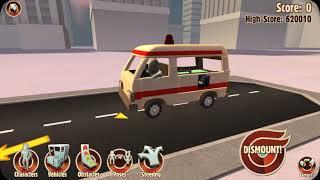 Turbo dismount update ambulance update I like it