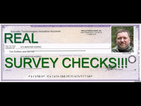Get Paid To Take Legitimate Surveys For Money