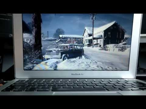 GTA V on MacBook Air 11 (i5 1.3 4GB Intel HD Graphics 5000)