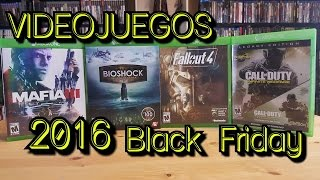 Unboxing Videojuegos de Black Friday 2016 |BEST BUY|