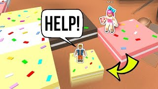 Roblox: DON'T LET THE CAKE FALL DOWN! EPIC MINIGAMES!