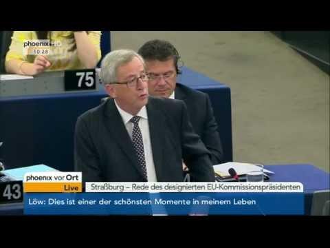 Wahl des Kommissionspräsidenten: Rede von Jean-Claude Juncker am 15.07.2014